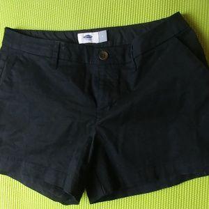 Black old navy shorts